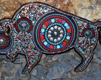 Majestic Buffalo Plaque