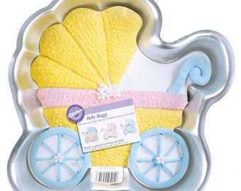 Baby Buggy Cake Pan by Wilton
