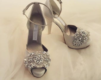 Bridal shoes -- style Ibi-- Made to Order