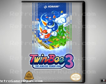 Twinbee 3 (NES Reproduction)