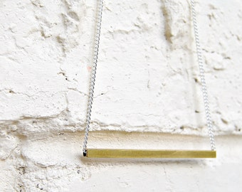 Simple Brass Necklace