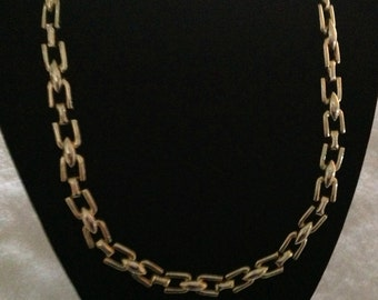 Vintage Chain Link Necklace