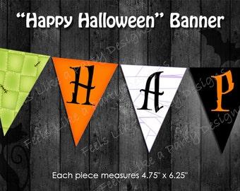 Halloween Banner - Instant Download