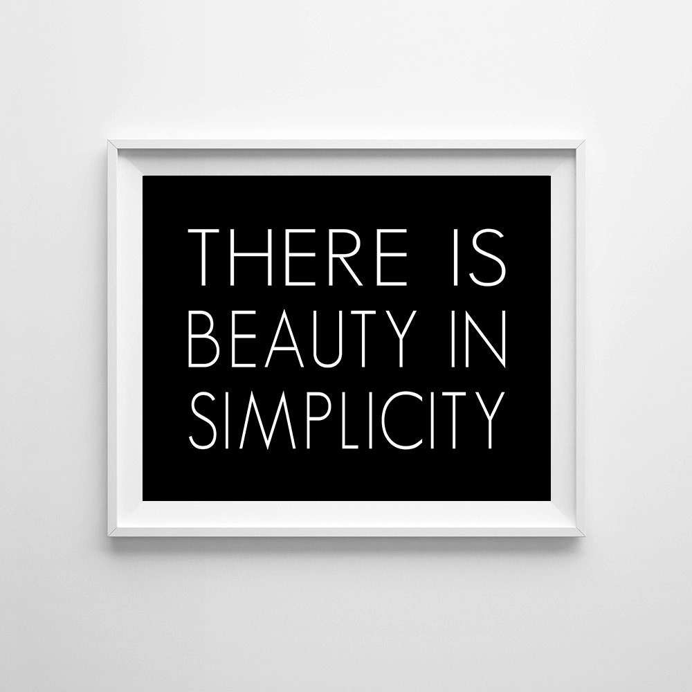 beauty in simplicity Beauty in simplicity: tbgi i like to keep things simple whenever people ask me how i make my plans, on my buying and selling points, they would always be surprised by how simple it seems usually there are just one or two trigger points that i watch out for.