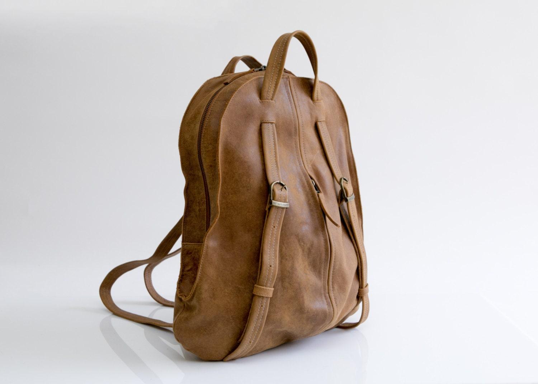 Innovative Backpacks For Women Khaki Black Book Bag - E-CanvasBags