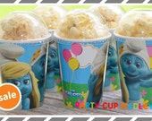 The Smurfs Party Cups-Popcorn Box-Set of 8