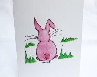 Card, Fluffy Bunny Cards