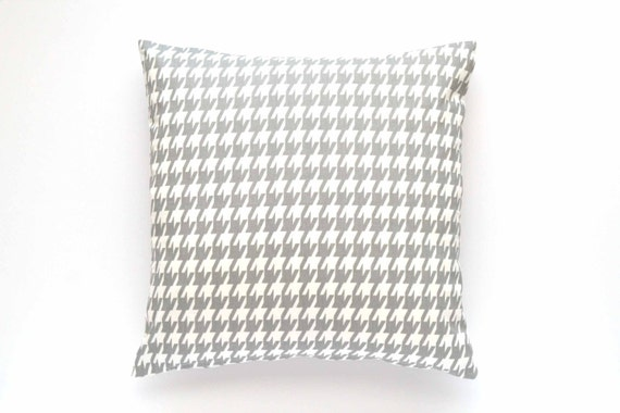 Gray Houndstooth Chair
