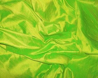 "Lemongrass dupioni silk - 54"" wide"