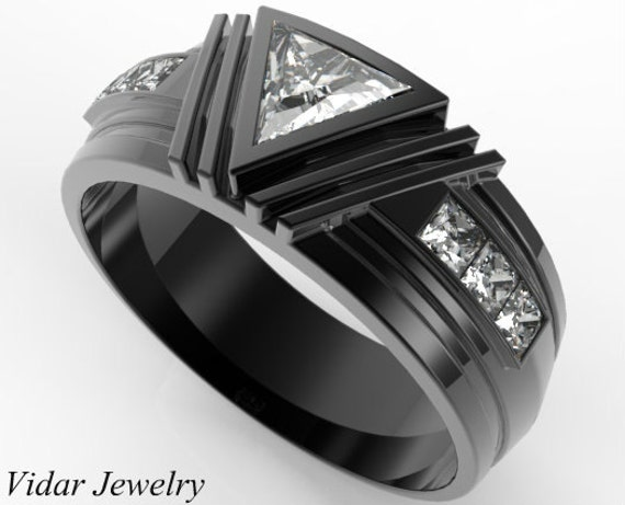 like this item - Black Mens Wedding Ring
