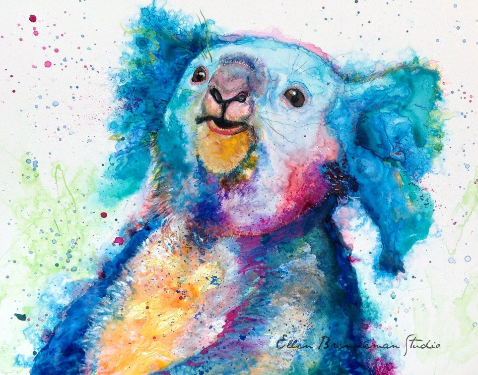 Pop Art Koala Paintings