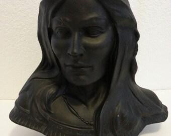 Ceramic Indian Lady Statue
