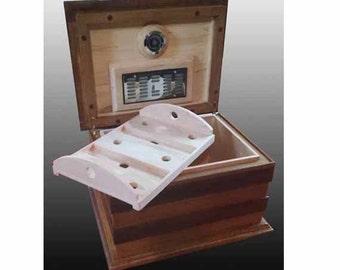 Specialty Custom Handmade Deluxe Cigar Humidors (75 -100) cigars