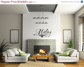 Family Decals - Family Name Decals - Vinyl Family Decals 0029