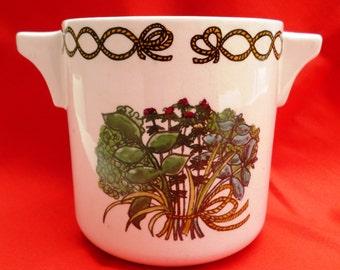 Taunton Vale container featuring Bouquet Garni herb illustration - ideal utensil holder