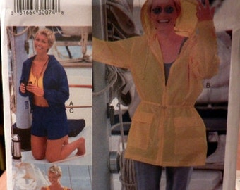 Vogue 7092 Misses' Jacket, Top, Shorts, Pants & Unitard pattern