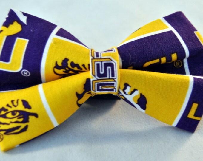 LSU Bow Tie