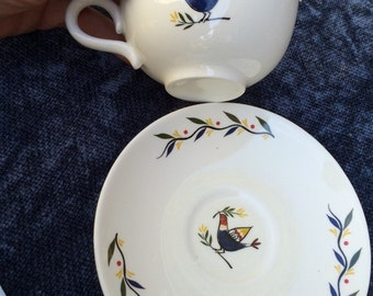 Homer Laughlin tea cup