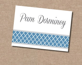 Personal Stationery (file only, printing available)