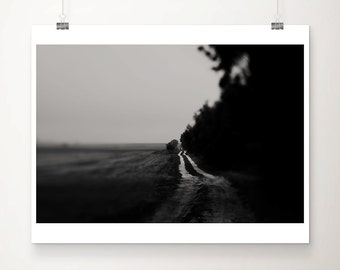 black and white photography road photograph dark art dark photograph rural decay photograph fog photograph winter photograph