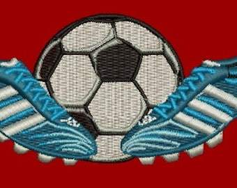 Soccer Embroidery Design / Football