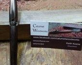 Hand turned Brazillian Rosewood pen