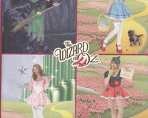 Simplicity 2546 Costume Pattern - Wizard of Oz Costumes In Mini Skirt Design - Size 8,10,12,14,16 UNCUT