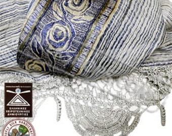 Greek Silk Shawl / Scarf Style YS431