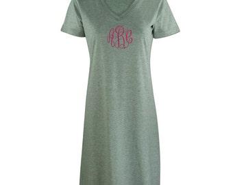 Monogrammed Cover Ups/T-Shirt Dress