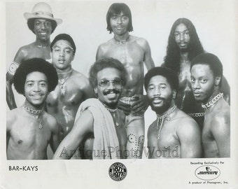 The Bar-Kays funk music band vintage photo