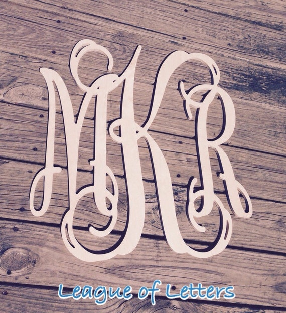 36 inch wooden monogram letters by leagueofletters on etsy for 36 inch wooden letters