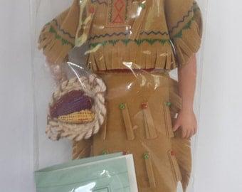 Avon Sioux Doll 1991