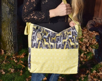 Brownie Gifts Spotted Love Diaper bag / coordinates with Tula carrier