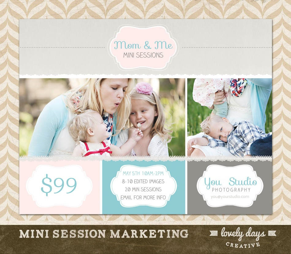 Mothers Day Mini Session Marketing Template For Photographers