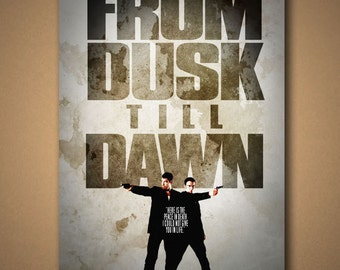 "From Dusk Till Dawn ""Peace In Death"" Movie Quote Poster"