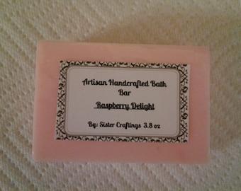 Raspberry Delight Artisan Soap
