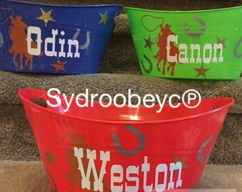 Personalized Party Tub