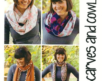 Pattern - Scarves and Cowls Accessory Pattern (MP707) by Make It Perfect