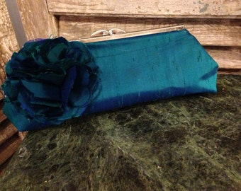 Diponi Silk Clutch Purse