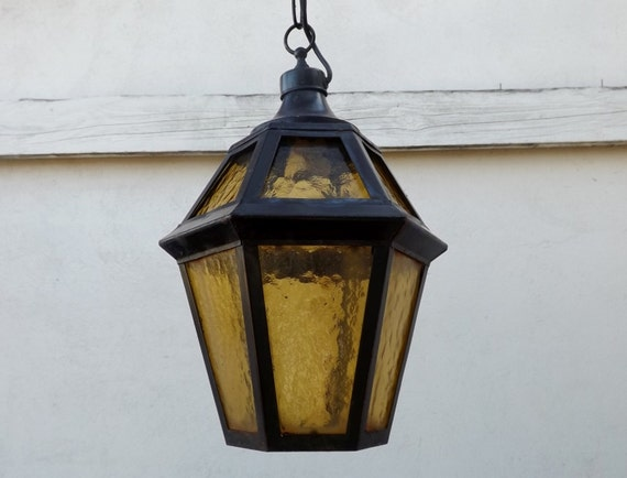 Big french exterior lantern outside light by daisyrootsfrance for Fixture exterieur