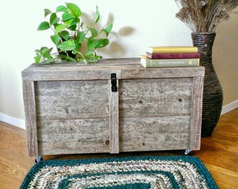 Crochet Rag Rug Rectangle Green & Beige