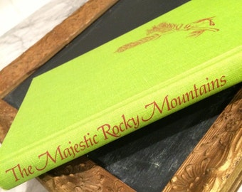 The Majestic Rocky Mountains book, National Geographic book, coffee table book, travel book, Rocky Mountains, colorado