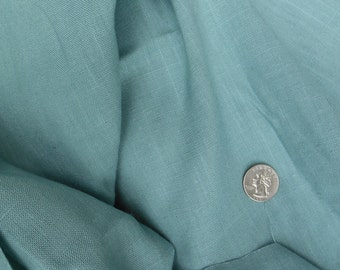 Vintage Fabric, Turquoise, Medium Weight Material, a161