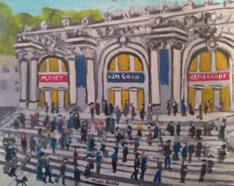 The Metropolitan Museum of Art original signed painting