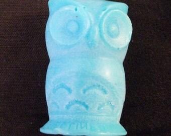 Owl soap - handmade.