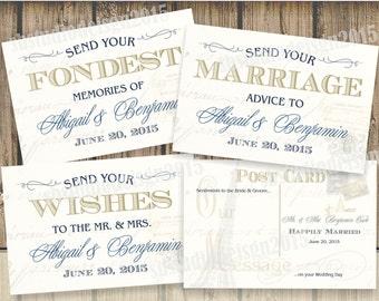 Wedding Postcard Vintage