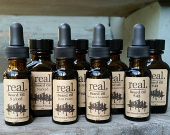 Beard Oil, Beard Care, Beard Conditioner, Man Gift, Vegan, Natural Beard Oils, Beard Care,  Men's Gift, Dad, Man, Beard Grooming, Skin care