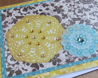 Gemstone Mandala Notecard