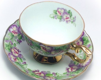 Vintage Royal Sealy China Japan tea cup and saucer
