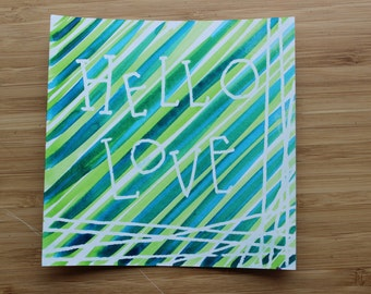 Hello Love Original Art